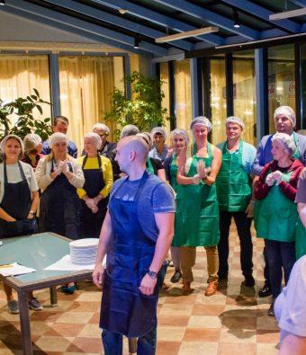 Кулинарный тимбилдинг в отеле