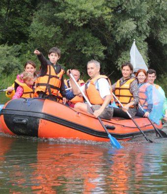 Корпоративный сплав по реке Шерне для компании