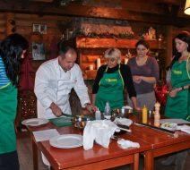 Кулинарный тимбилдинг для компании