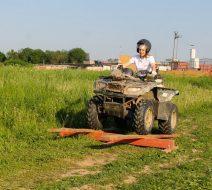 Тимбилдинг на квадроциклах в Волене для крупной компании.