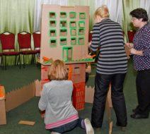 Творческий тимбилдинг для Министерства социальной защиты населения Московской области.