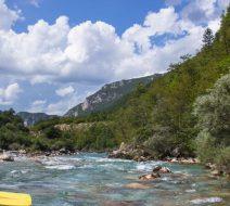 Рафтинг в Черногории.