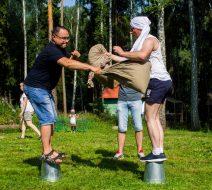 Русские НеОлимпийские игры на базе отдыха Нептун.