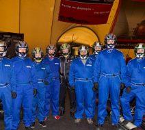 Корпоративный картинг в клубе Forza-karting для компании