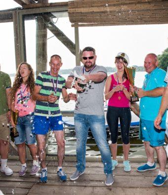 Корпоративный Family Day с парусной регатой на Клязьминском водохранилище для магазина крупной сети стройматериалов.