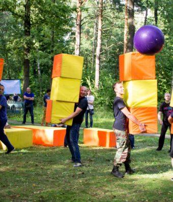 Активный тимбилдинг Farace (Ферейс) на базе Востряково.
